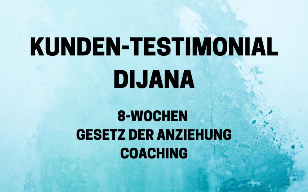 Testimonial Dijana